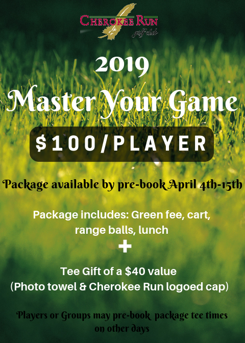 Cherokee Run Master Your Game 2019